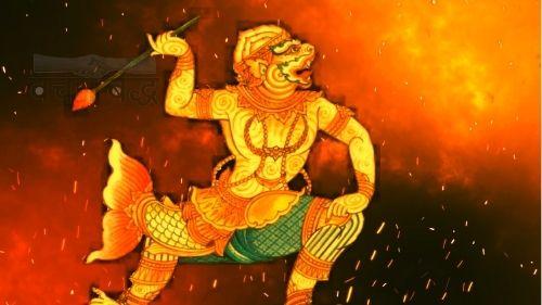 Son of Lord Hanuman